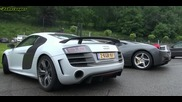 Audi R8 Gt V10 на Спа