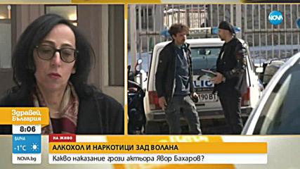 До 5 години затвор грозят актьора Явор Бахаров