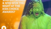 Celebs bring their A-game to the Kids Choice Awards