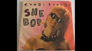 cyndi lauper-- she bop-special dance version- 1984