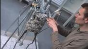 Djystin Biibyr obiasniava kak sa napravili vosychnata mu figura
