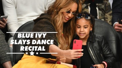 Blue Ivy shows who's the real star at dance recital