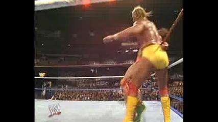 Wrestlemania 6 - Hogan vs Warrior