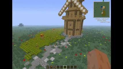 Моята вятърна мелница в Minecraft