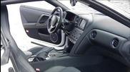 От 0 до 100 за едно вдишване тест на Nissan Gt-r