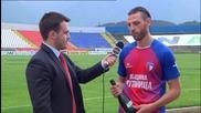 ВИДЕО: Илиян Гаров спечели наградата Играч на мача на Марек - Хасково