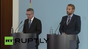 Germany: Interior minister reinstates 'temporary' border controls with Austria
