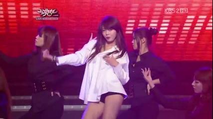 Hyuna в секси гореща dance битка