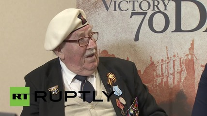 "Russia: British WWII veteran laments world leader's ""inflammatory rhetoric"""