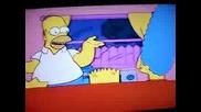 Сперматозоидите на Хоумър Симпсън се боряд за надмощие - Смях