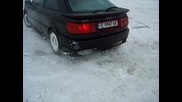 Bmw Club Haskovo Audi 90 Quattro snow drift part2