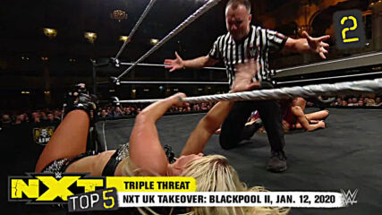 NXT Top 5: Kay Lee Ray's greatest title defenses