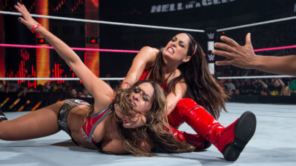 Brie Bella vs. Nikki Bella: Hell in a Cell 2014 (Full Match)