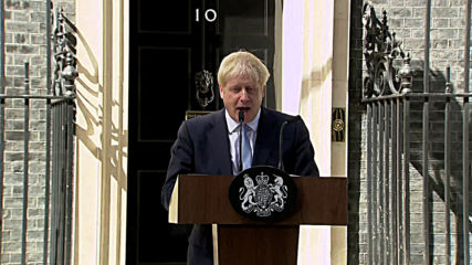 UK: 'No ifs or buts' - Johnson vows to leave EU in first speech as PM