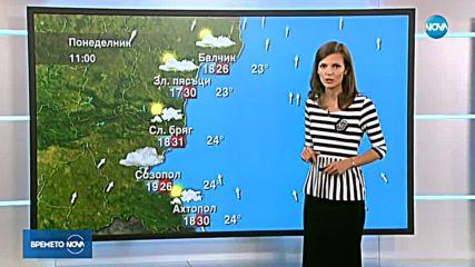 Прогноза за времето (23.09.2018 - централна емисия)