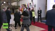 Belgium: Greek PM Tsipras arrives for fresh crisis talks in Brussels