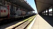 Товарен влак транзитира през Гара София