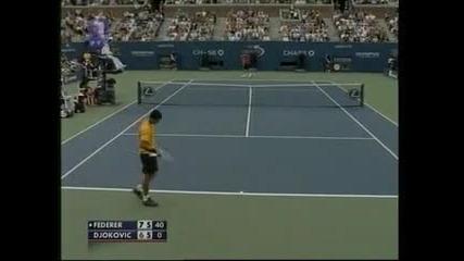 Djokovic Vs. Federer polufinal Us Open