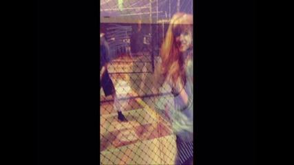 Bella Thorne - big hoops