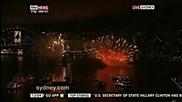 2014 -новогодишните фойерверки в Сидни - Австралия