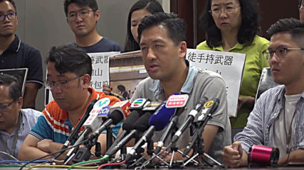 Hong Kong: Civilians 'attacked by gangsters' says lawmaker about train attack