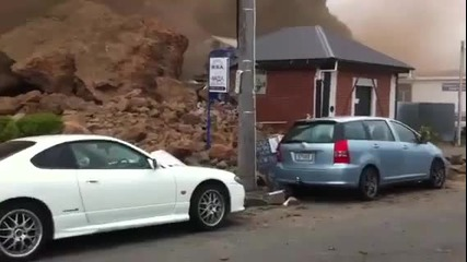 Земетресението в Christchurch