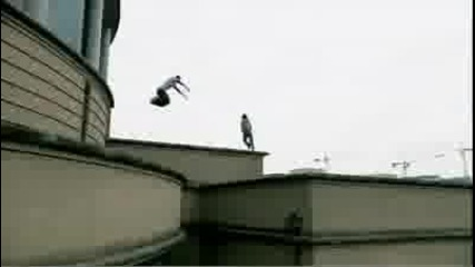 Freerunning commercial - Rogers