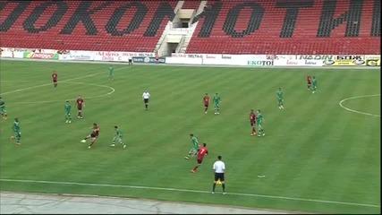 Локомотив София и Лудогорец завършиха при резултат 2:2