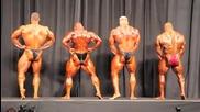 Arnold Classic 2011 Top Four Final Comparisons