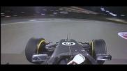 Най-шантавата катастрофа във F1 от доста време насам