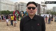 'Kim Jong-Un' Makes Appearance at Rio Olympics