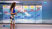Прогноза за времето (09.07.2016 - обедна)