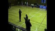 Участие на Спенс по време на коледния баскетболен турнир в Димитровград 18 - 19.12.2010