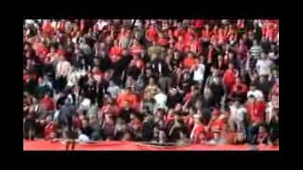 Цска - Славия (червени сме,  горди сме)