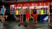 Тренировка с Трите Хикса- крака, Tripple H workout- Lower Body