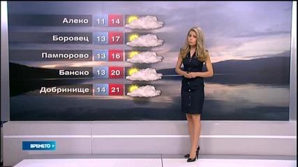 Прогноза за времето (21.08.2015 - сутрешна)