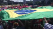 Brazil: Rousseff supporters protest her suspension after impeachment vote