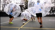 Футбол с балони в Хонг Конг