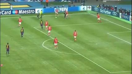Къде е топката ... Андрес Иниеста срещу Спартак москва