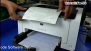 How to adjust barcode label print setting