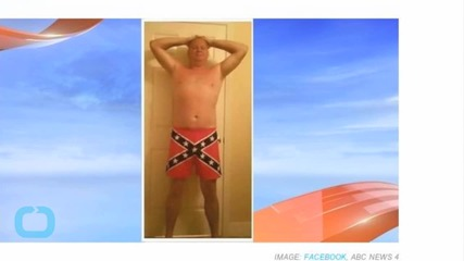 Officer Fired For Posing In Confederate Flag Underwear--And Nothing Else