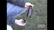 Как пада дъното на бутилка от бира