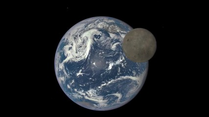Наса пусна запис на тъмната страна на Луната