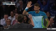 Малчуган отбеляза точка на Федерер с ракетата на Гришо