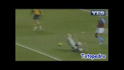 Астън Вила 2:2 Арсенал Денилсон Гол