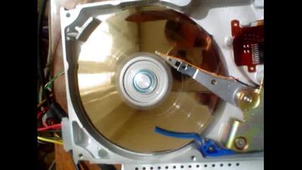 Унищожаване на хард диск Quantum Maverick
