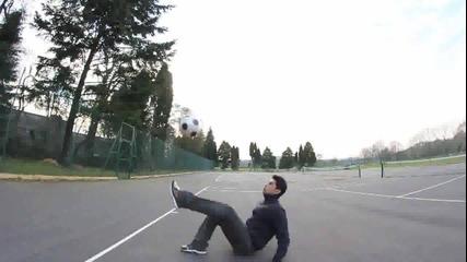 Невероятни умения с топка!