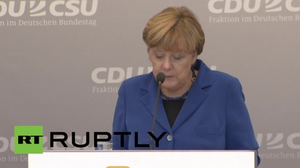 Germany: Merkel wants TTIP frameworks agreement by end of 2015