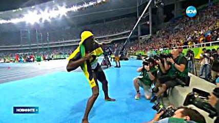 ИСТОРИЧЕСКИ РЕКОРД: Юсейн Болт с 3 златни медала в бягането на 100 метра