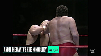 Andre the Giant's greatest moments: WWE Playlist